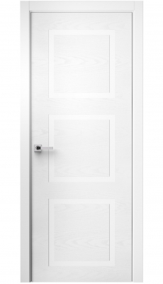 Comforto Interior Door White Ash / White