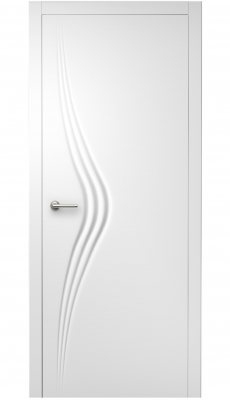 Wave Interior Door Royal White