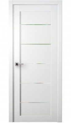 Tia Interior Door Bianco Noble/Frosted Glass