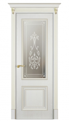 Mareta Vetro Interior Door White Ash