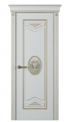 Valenza Incerto Interior Door Italian Enamel 7035