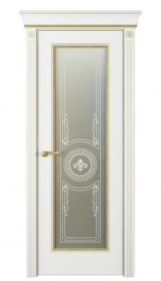 Fontanella Vetro Interior Door Italian Enamel White