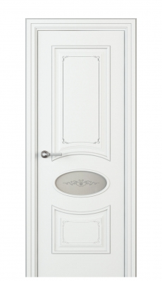 Amelia Incerto Interior Door Italian Enamel White