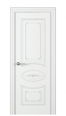 Amelia Interior Door Italian Enamel White