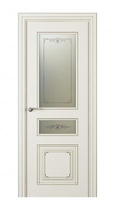 Fabrizia Vetro Duo Interior Door Italian Enamel 9010