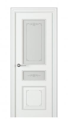 Fabrizia Vetro Duo Interior Door Italian Enamel White
