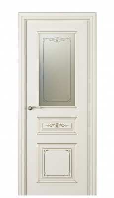 Fabrizia Vetro Interior Door Italian Enamel 9010
