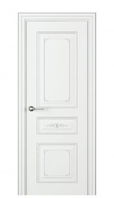 Fabrizia Interior Door Italian Enamel White