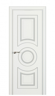 Viola Interior Door Italian Enamel White