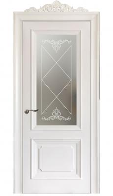 Floridia Vetro Interior Door Italian Enamel White