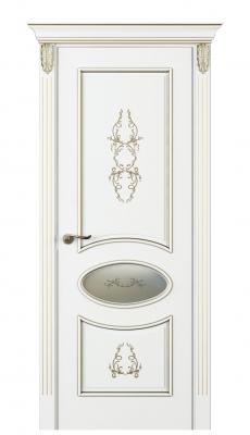Nikkolo Inserto Interior Door Italian Enamel White