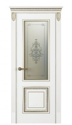 Molinella Vetro Interior Door Italian Enamel White