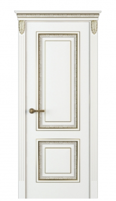 Molinella Interior Door Italian Enamel White
