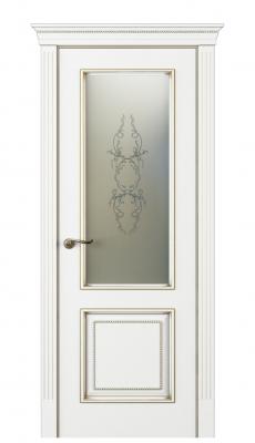 Malfa Vetro Interior Door Italian Enamel White