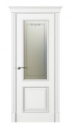 Madia Vetro Interior Door Italian Enamel White