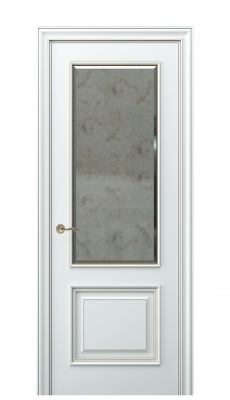 Nora Interior Door Italian Enamel White