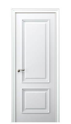 Nola Interior Door Italian Enamel White