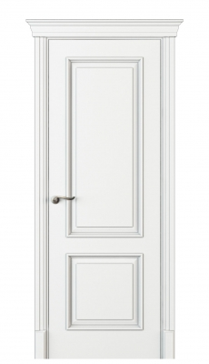 Madia Interior Door Italian Enamel White
