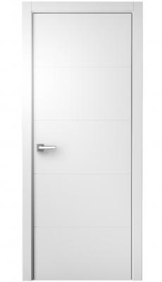 Simpla Interior Door White Italian Enamel