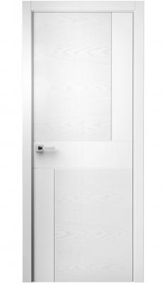 Komo Interior Door Italian Enamel White / White Ash
