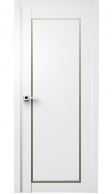 Trinity Interior Door Polar White