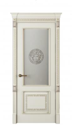 Medusa Vetro Interior Door Royal White Oak