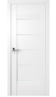 Forta Interior Door Soft Touch White/ Frosted Glass