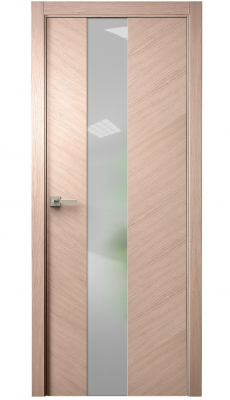 Tera V Vetro Interior Door Brushed Oak Tone 12