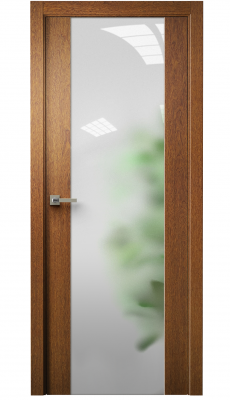 Vetra Interior Door Sucupira / Frosted Glass