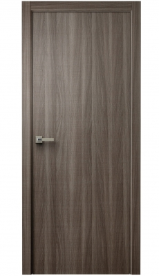 Unica Interior Door Walnut Cut