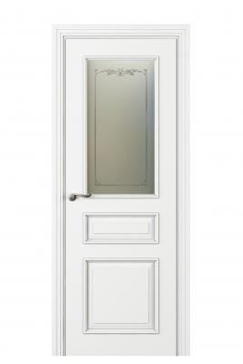Image Fellini Vetro Interior Door Italian Enamel White 1
