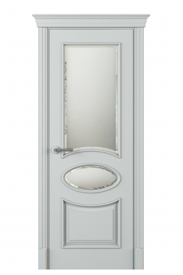 Image Formazza Vetro Duo Interior Door Italian Enamel 7035 1