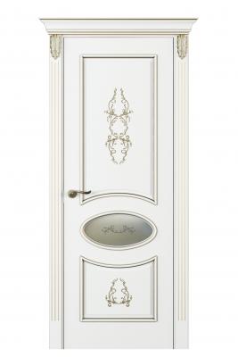 Image Nikkolo Inserto Interior Door Italian Enamel White 1