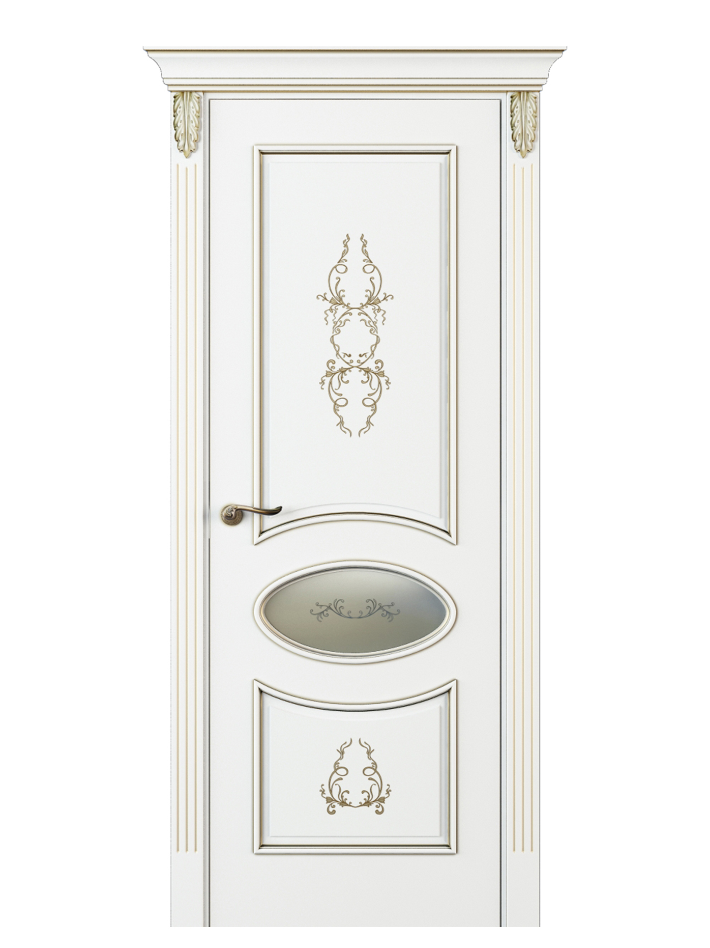 Image Nikkolo Inserto Interior Door Italian Enamel White 0