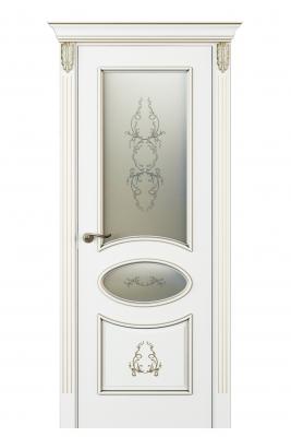 Image Nikkolo Vetro Duo Interior Door Italian Enamel White 1