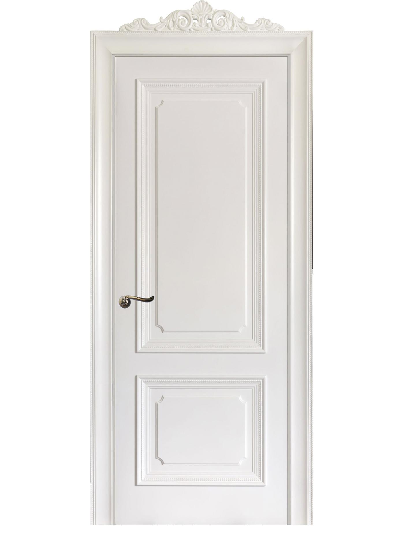 Image Floridia Interior Door Italian Enamel White 0