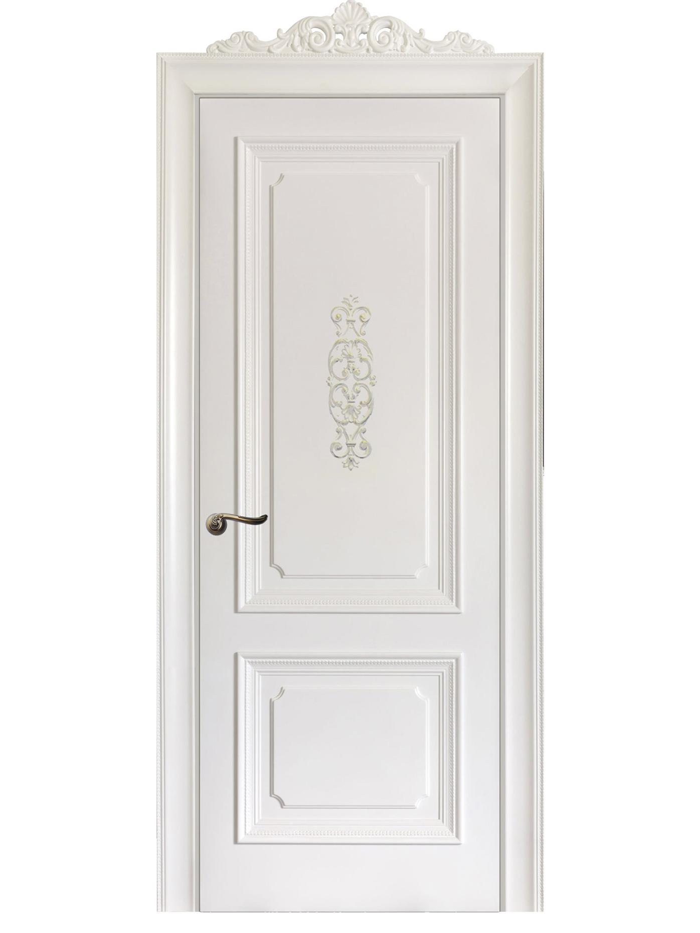 Image Floridia Fasonado Interior Door Italian Enamel White 0