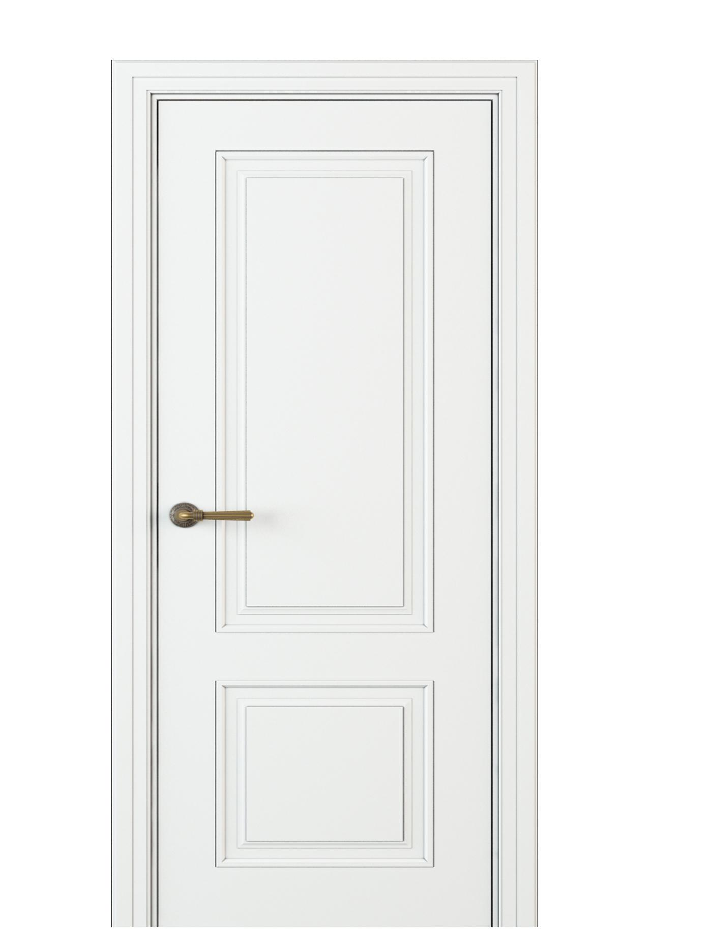 Image Donori Interior Door Italian Enamel White 0
