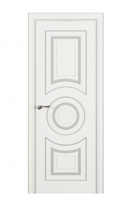 Image Viola Interior Door Italian Enamel White 1