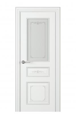 Image Fabrizia Vetro Interior Door Italian Enamel White 1