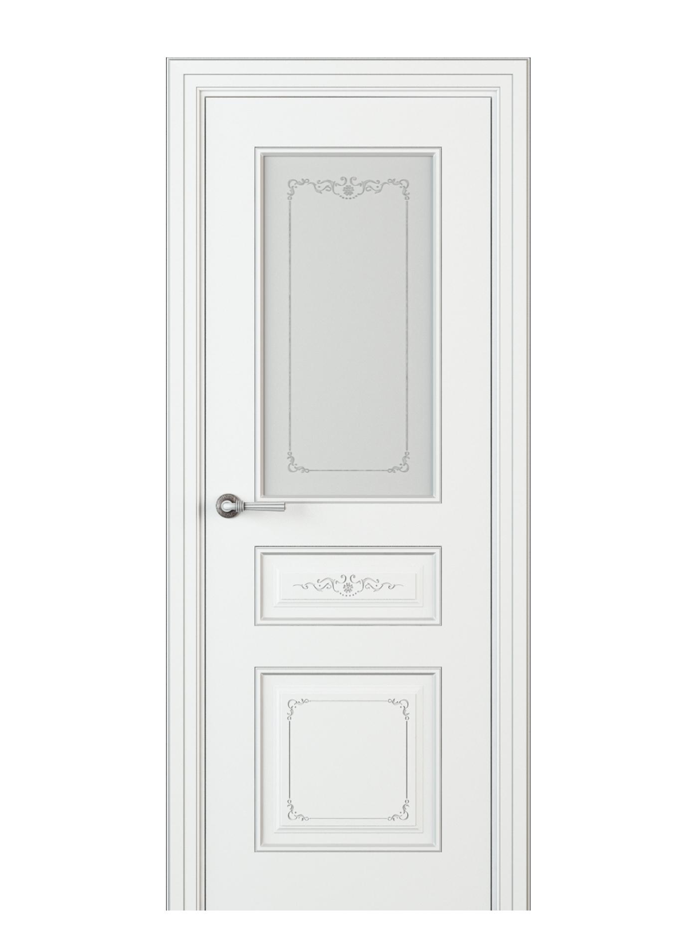 Image Fabrizia Vetro Interior Door Italian Enamel White 0