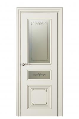 Image Fabrizia Vetro Duo Interior Door Italian Enamel 9010 1