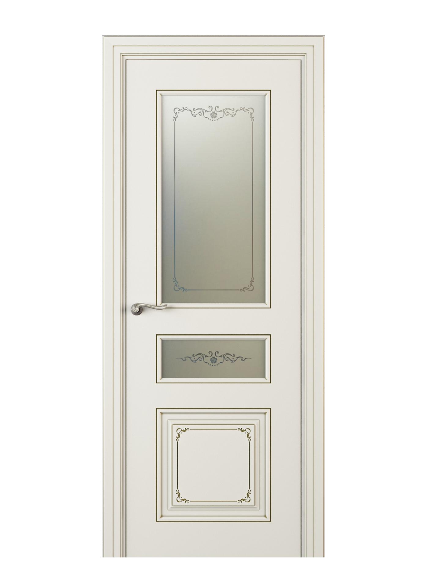 Image Fabrizia Vetro Duo Interior Door Italian Enamel 9010 0