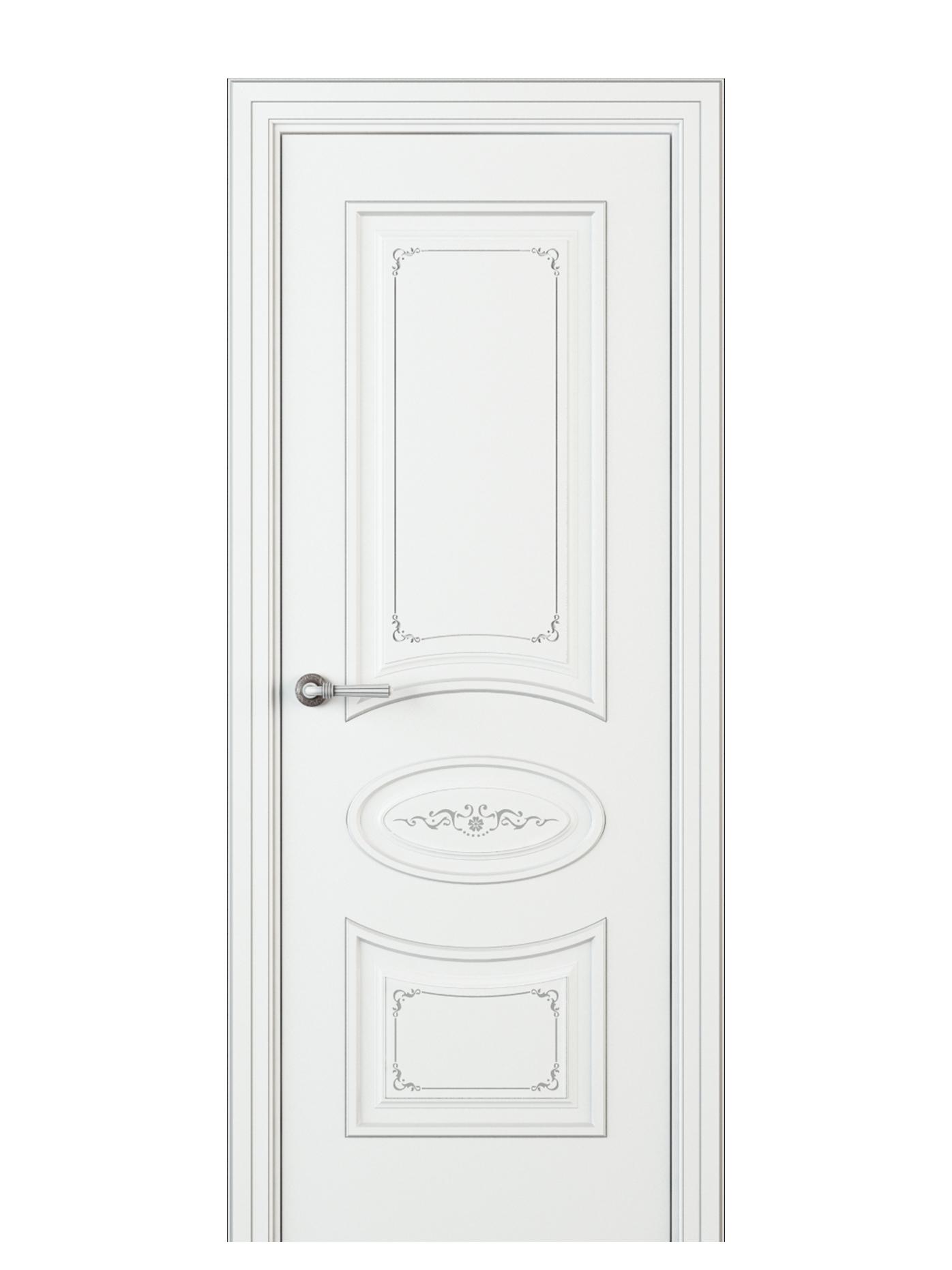 Image Amelia Interior Door Italian Enamel White 0