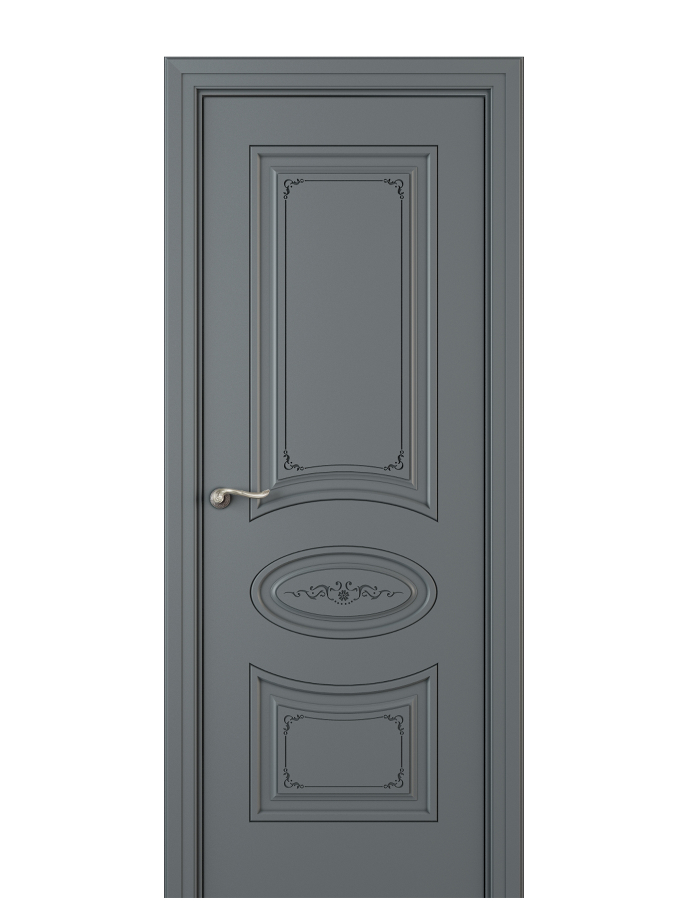Image Amelia Interior Door Italian Enamel 7011 0