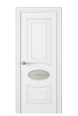 Image Amelia Incerto Interior Door Italian Enamel White 1