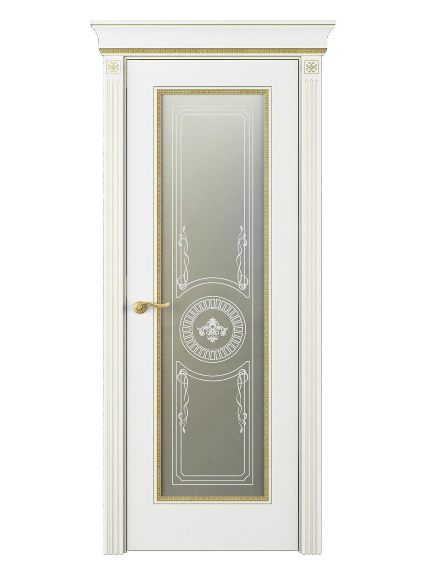 Image Fontanella Vetro Interior Door Italian Enamel White 0