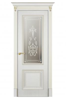 Image Mareta Vetro Interior Door White Ash 1