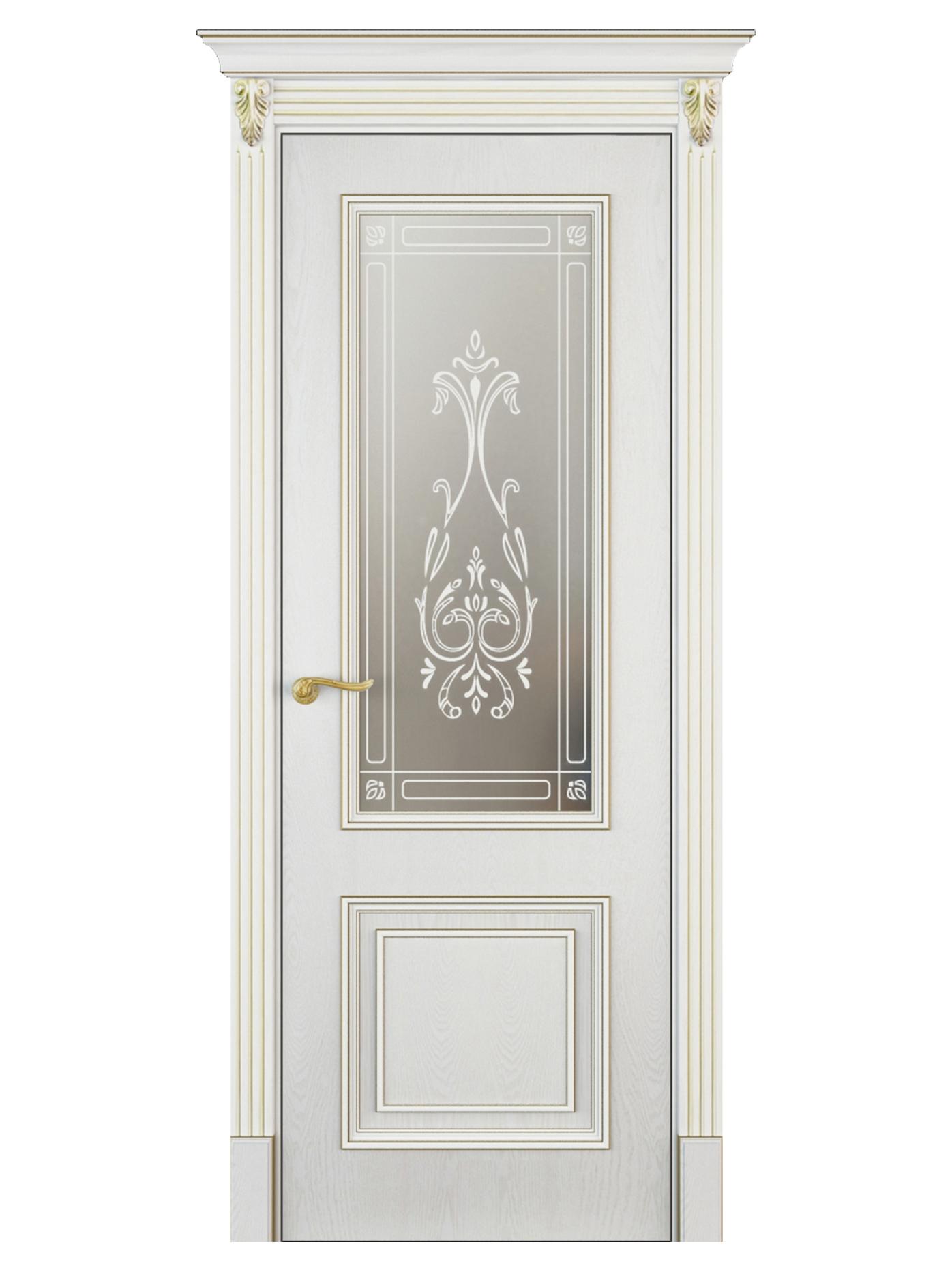 Image Mareta Vetro Interior Door White Ash 0