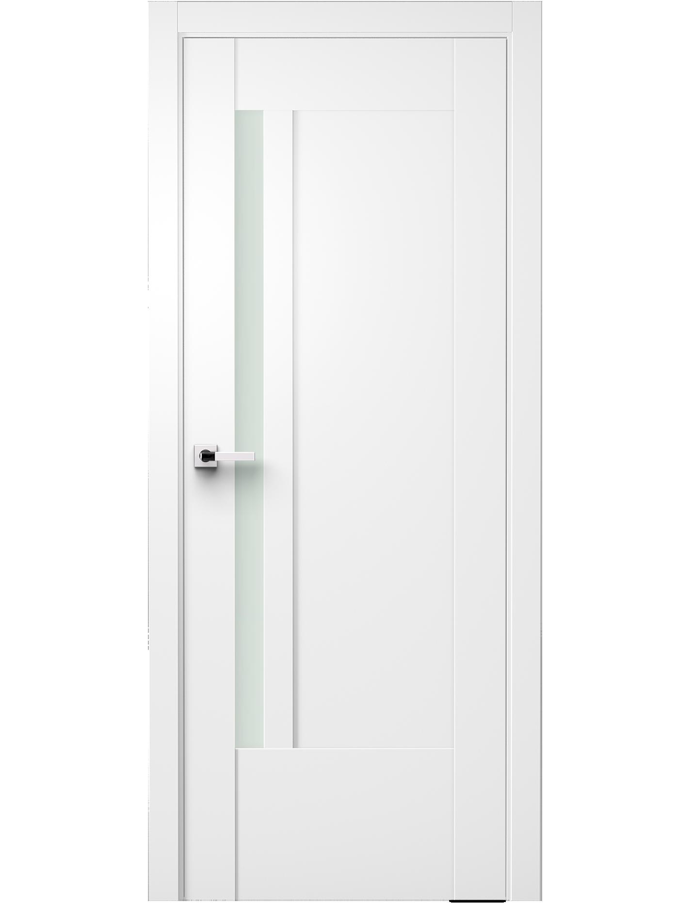 Image Fidela Interior Door Soft Touch White 0
